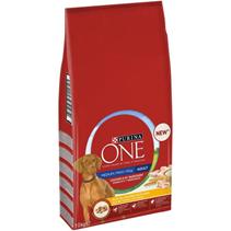 Purina One Dog / Сухой корм Пурина Уан для взрослых собак Средних и Крупных пород весом более 10 кг Курица рис