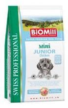 Заказать BioMill Swiss Professional Mini Junior Sensitive Lamb and Rice / Сухой корм для привередливых и проблемных Щенков Мелких и Карликовых пород по цене 680 руб