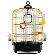 ferplast / Клетка для птиц REGINA Ø32,5х49см Золотая