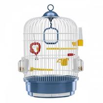 ferplast / Клетка для птиц REGINA Ø32,5х49см Перламутровая