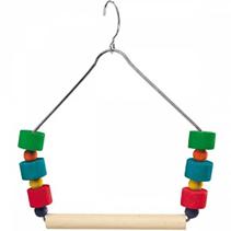 ferplast PA 4084 / Игрушка Ферпласт для птиц Качели-трапеция с игрушками
