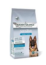 Arden Grange Puppy & Junior Sensitive Grain free / Сухой Беззерновой корм Ардэн Грэндж для Щенков и молодых собак с Деликатным желудком и/или Чувствительной кожей