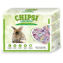 Chipsi Carefresh Confetti / Бумажный наполнитель-подстилка Чипси Кэафреш для мелких домашних животных и птиц Разноцветный