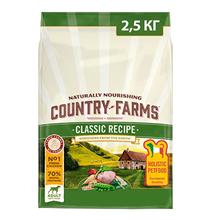 Country Farms Dog Adult Classic recipe Chicken / Сухой Классический полнорационный корм Кантри Фармз для взрослых собак с высоким содержанием Курицы