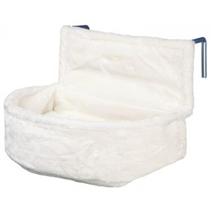 Trixie / Лежак-гамак для кошек Трикси Подвесной на радиатор Плюш Белый