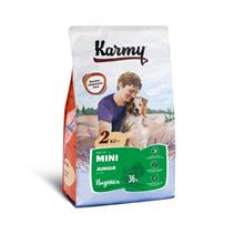 Karmy Junior Mini / Сухой корм Карми для Щенков Мелких пород до 1 года Индейка