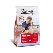 Karmy Junior Medium / Сухой корм Карми для Щенков Средних пород до 1 года Индейка