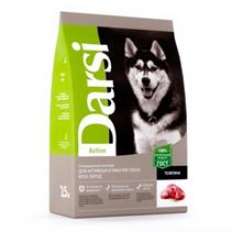 Darsi Active / Сухой корм Дарси для Активных и рабочих собак всех пород Телятина