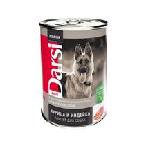Darsi Adult / Паштет Дарси для взрослых собак Курица и Индейка (цена за упаковку)