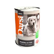 Darsi Sensitive / Паштет Дарси для собак с Чувствительным пищеварением Индейка и Утка (цена за упаковку)