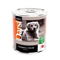 Darsi Sensitive / Паштет Дарси для собак с Чувствительным пищеварением Говядина с рисом (цена за упаковку)