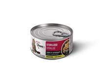 1st Choice Sterilized Source of Antioxidants / Беззерновые консервы для Стерилизованных кошек Курица с Сардиной Цена за упаковку