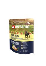 Ontario Adult Mini Chicken & Potatoes / Сухой корм Онтарио для взрослых собак Мелких пород с Курицей и картофелем