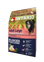Ontario Adult Large Chicken & Potatoes / Сухой корм Онтарио для взрослых собак Крупных пород с Курицей и картофелем