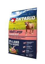 Ontario Adult Large Lamb Turkey & Rice / Сухой корм Онтарио для взрослых собак Крупных пород с Ягненком Индейкой и рисом