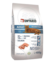 Ontario Adult Ocean Fish / Сухой корм Онтарио для взрослых кошек с Морской рыбой