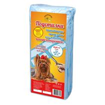 Заказать Доброзверики Подстилки впитывающие для животных Четырехсекционные 5шт по цене 160 руб
