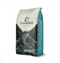 Canagan GF Scottish Salmon Small Breed / Сухой Беззерновой корм для собак Мелких пород Лосось