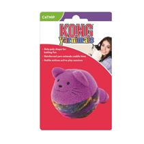 Заказать Kong Yarnimals / Игрушка для кошек Кот-клубок с мятой Цвета в ассортименте по цене 490 руб