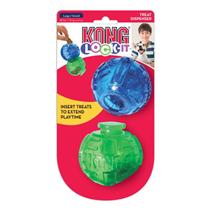 Kong Lock-It Large / Игрушка для собак Мячи для лакомств