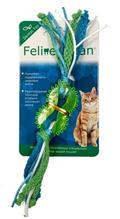 Заказать Aromadog Feline Clean Dental / Игрушка для кошек Колечко прорезыватель с лентами Резина по цене 180 руб