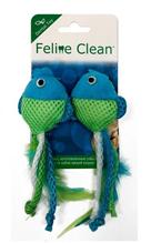 Заказать Aromadog Feline Clean Dental / Игрушка для кошек Рыбки ленты и перья 1х2шт по цене 200 руб