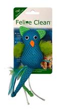 Заказать Aromadog Feline Clean Dental / Игрушка для кошек Сова хвост с перьями по цене 210 руб