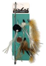 Заказать Aromadog Petpark / Игрушка для кошек Дразнилка со Cменными кисточками по цене 330 руб