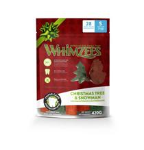 Заказать Whimzees Christmas Tree & Snowman / Лакомство для собак весом от 7 до 12 кг по цене 750 руб