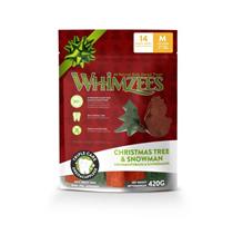 Заказать Whimzees Christmas Tree & Snowman / Лакомство для собак весом от 12 до 18 кг по цене 750 руб