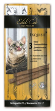 Заказать Edel Cat Light / Лакомство для кошек Жевательные колбаски с Цыпленком и Индейкой по цене 86 руб