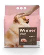 Заказать Winner Puppy / Сухой корм для Щенков Мелких пород Курица по цене 410 руб