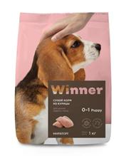 Winner Puppy / Сухой корм Винер для Щенков Средних пород Курица