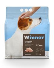 Winner Adult / Сухой корм Винер для взрослых собак Мелких пород Курица