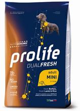 Prolife Dog Dual Fresh Adult Mini Lamb Buffalo & Rice Mini / Сухой корм Пролайф для взрослых собак Мелких пород корм Буйвол ягненок рис
