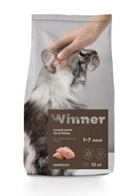 Winner Adult / Сухой корм Винер для Стерилизованных кошек Курица
