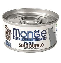 Monge Cat Monoprotein / Консервы Монж Монопротеиновые для кошек Хлопья Буйвола (цена за упаковку)
