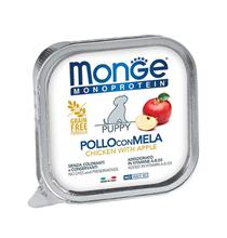Monge Puppy Monoproteico Fruits Chicken & Apple / Влажный корм Паштет Монж Монопротеиновый для Щенков Курица с яблоками (цена за упаковку)