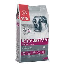 Blitz Classic Adult Large & Giant Chicken / Сухой корм Блиц для взрослых собак Крупных и Гигантских пород Курица
