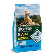 Monge Dog BWild Grain Free Adult Mini Anchovies Potatoes Peas / Сухой Беззерновой корм Монж Бивайлд для взрослых собак Мелких пород Анчоусы картофель горох