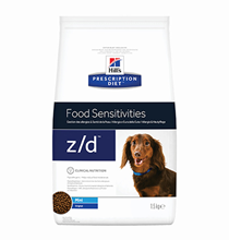 Hills Prescription Diet z\d Food Sensitivities Mini / Лечебный корм Хиллс для собак Мелких пород при Пищевой Аллергии
