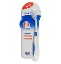 Show Tech Trio-Pet Toothbrush / Зубная щетка Шоу Тех для собак и кошек 3-х сторонняя