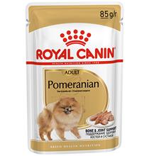 Royal Canin Breed dog Pomeranian Adult Паучи / Влажный корм (паштет) Роял Канин для собак породы Померанский Шпиц (цена за упаковку)