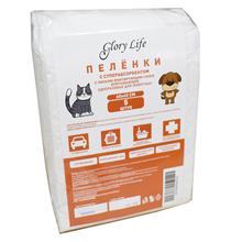 Заказать Glory Life / Пеленки для животных с Суперабсорбентом и Липким фиксирующим слоем Одноразовые Белые по цене 90 руб