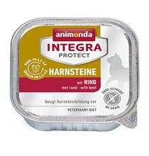 Animonda Integra Protect Urinary / Ветеринарный влажный корм (консервы) Анимонда для взрослых кошек при Мочекаменной болезни Говядина (цена за упаковку)