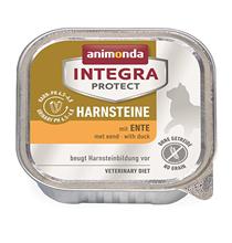 Animonda Integra Protect Urinary / Ветеринарный влажный корм (консервы) Анимонда для взрослых кошек при Мочекаменной болезни Утка (цена за упаковку)