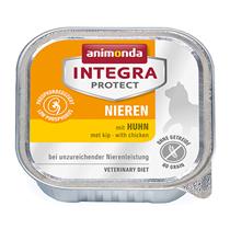 Animonda Integra Protect Renal / Ветеринарный влажный корм (консервы) Анимонда для взрослых кошек при хронической Почечной недостаточности Курица (цена за упаковку)