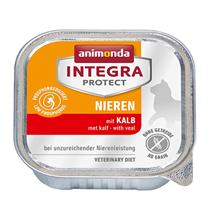 Animonda Integra Protect Renal / Ветеринарный влажный корм (консервы) Анимонда для взрослых кошек при хронической Почечной недостаточности Телятина (цена за упаковку)