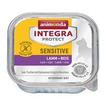 Animonda Integra Protect Sensitive / Ветеринарный влажный корм (консервы) Анимонда для взрослых кошек при Пищевой Аллергии Ягненок рис (цена за упаковку)