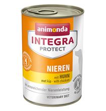 Animonda Integra Protect Renal / Ветеринарный влажный корм (консервы) Анимонда для взрослых собак при хронической Почечной Недостаточности Курица в банках (цена за упаковку)